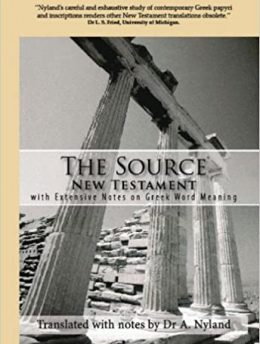 The Source New Testament